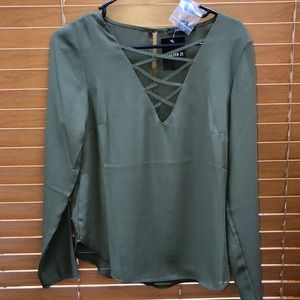 Army green shirt from forever 21